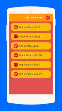 One Line Status apk screenshot