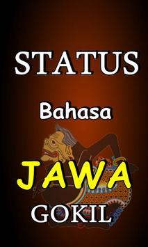 STATUS BAHASA JAWA LUCU TERBARU KOMPLIT poster
