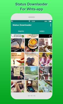 Real Status Downloader for Whatsapp screenshot 1