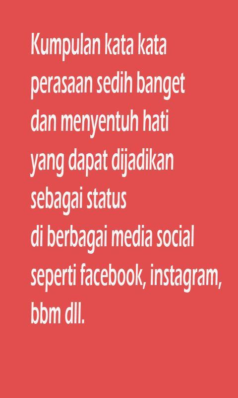 101 Gambar Status Facebook Sedih Kekinian