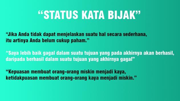 Status Kekinian (FB, WA, BM) 截圖 1
