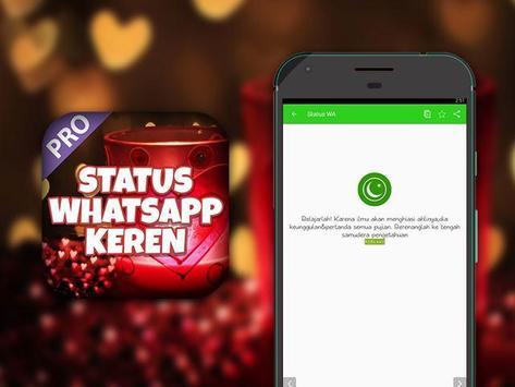 Status WA Keren poster