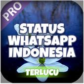 Status WA Indonesia Lucu icon