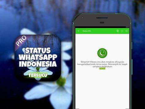 Status WA Indonesia Lucu poster