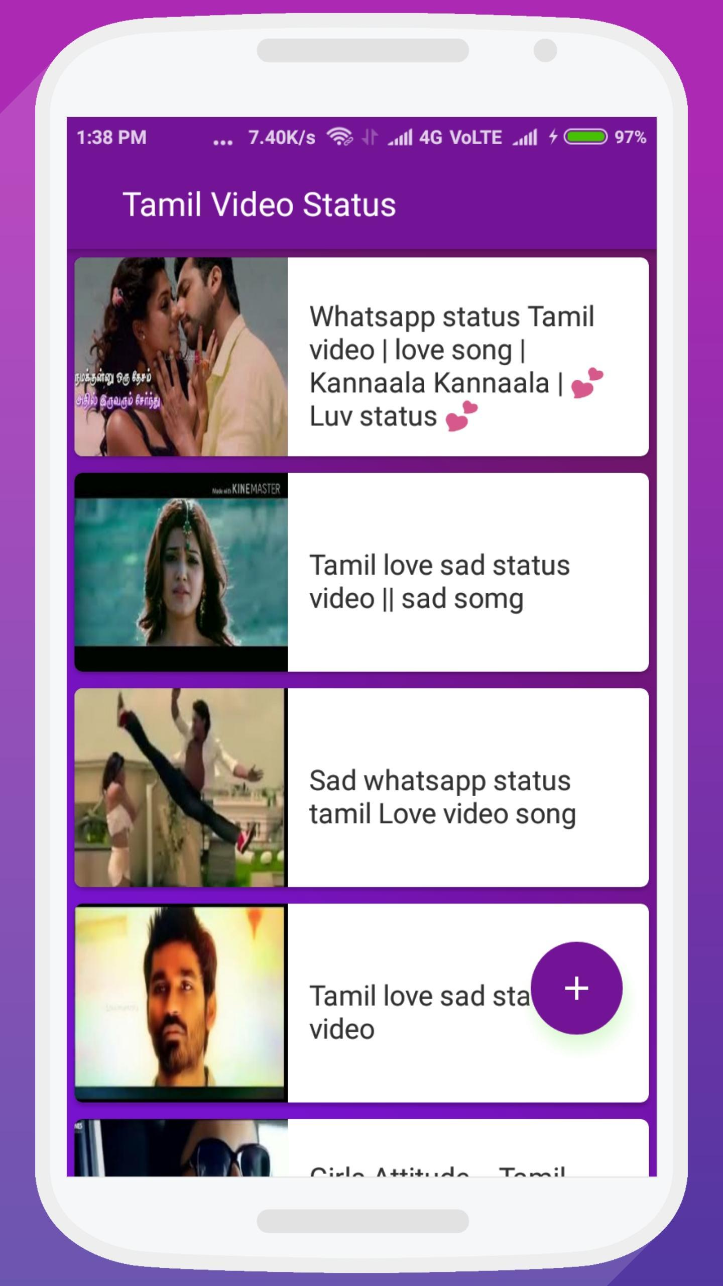 Sad song status for whatsapp download in tamil | 125+ whatsapp