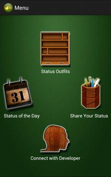 Whats Your Status apk screenshot