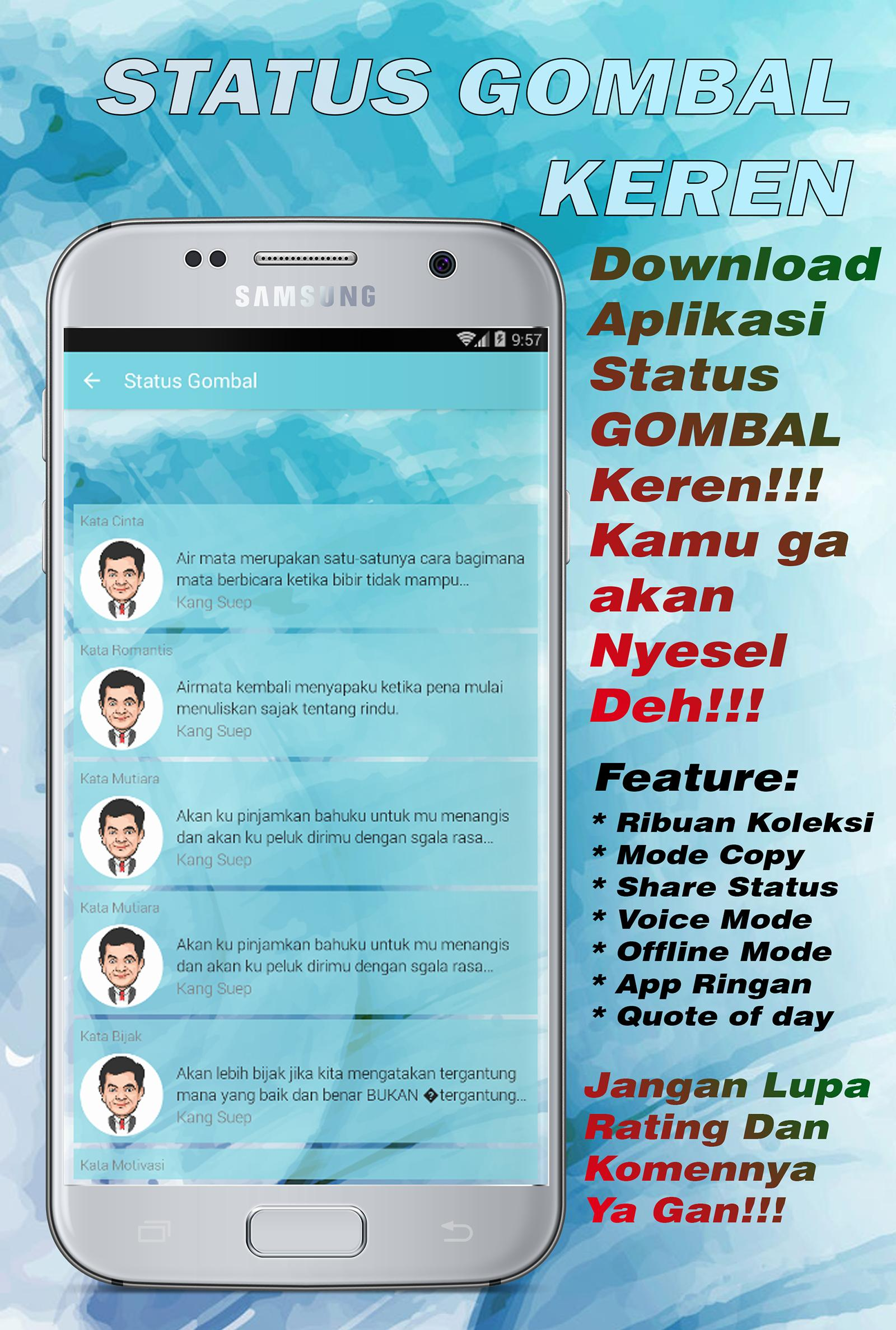 Status Gombal Keren For Android Apk Download
