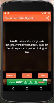Status Lucu Bikin Ngakak screenshot 2
