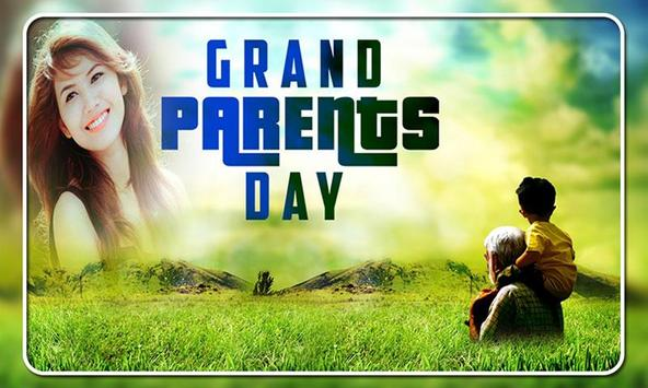 Grandparents Day Photo Frames poster