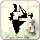 Engineers Day Photo Frames icon
