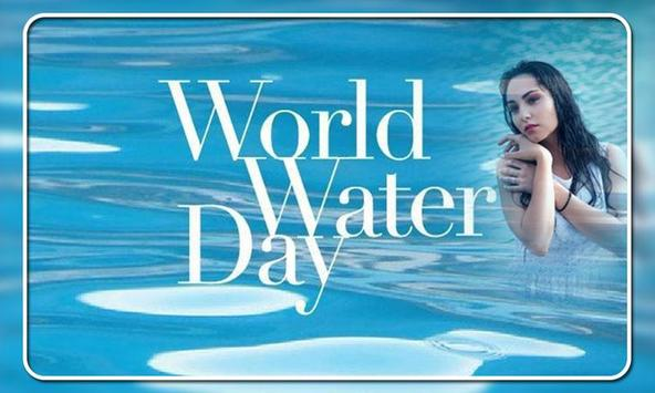 World Water Day Photo Frames poster