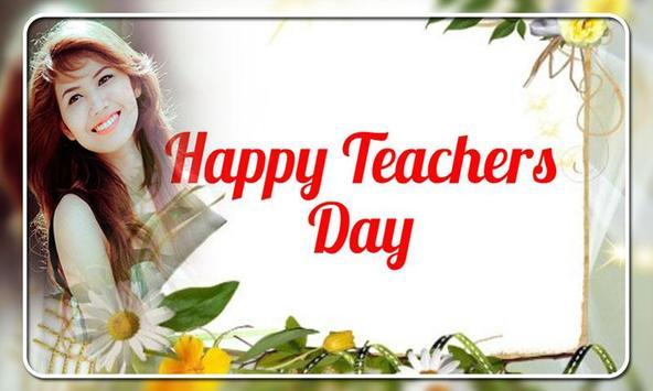 Teachers Day Photo Frames poster