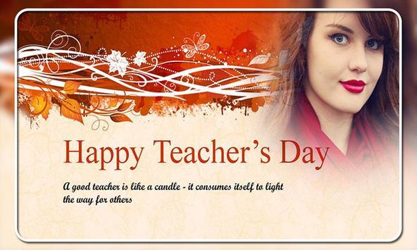Teachers Day Photo Frames screenshot 1