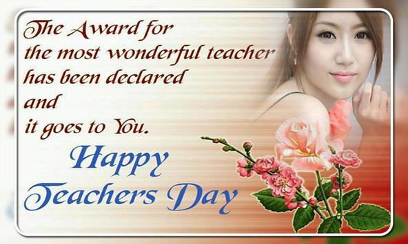 Teachers Day Photo Frames screenshot 2