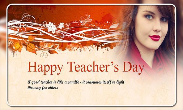Teachers Day Photo Frames screenshot 7