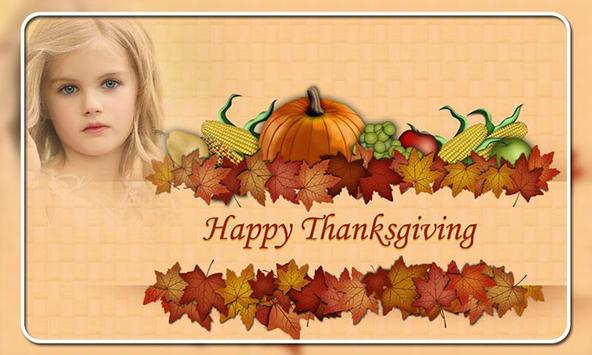 Thanks Giving Day Photo Frames poster