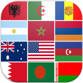 quiz flags countries icon