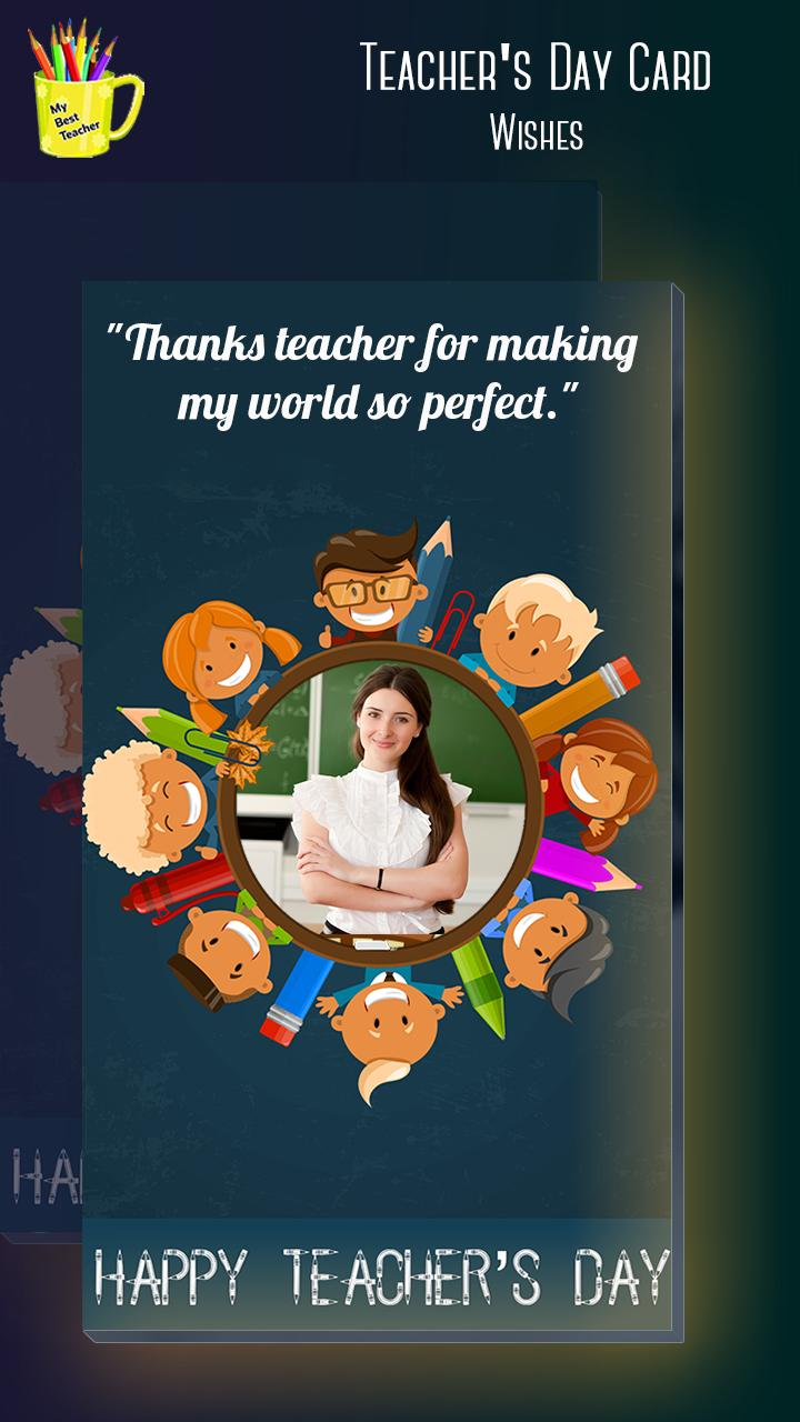 Teachers Day Greeting Card Maker for Android - APK Download