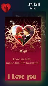 Love Greeting Cards Maker poster