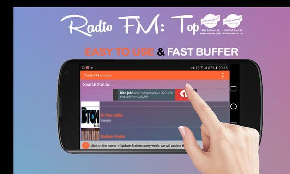 Radio FM – Best 40 Station Online poster