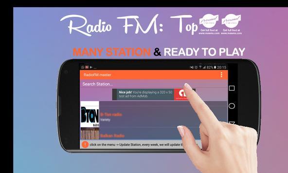 Radio FM – Best 40 Station Online apk screenshot