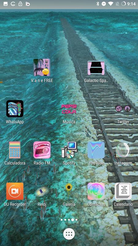 Vaporwave n Aesthetic side B Live Wallpaper for Android ...