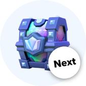 Stats Clash Royale Next chest icon