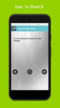 New Technology Status 2017 screenshot 3