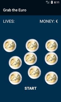 Attrape les Euros poster