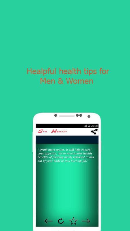 ... Stay Healthy: +100 Health tips screenshot 2 ...
