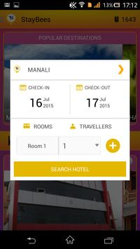 StayBees - Budget Hotels screenshot 2