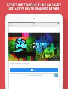 Stayfilm for Messenger apk screenshot