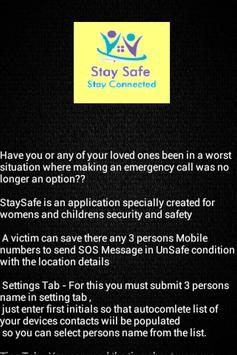 StaySafe_StayConnected-SOS screenshot 3