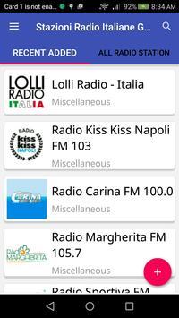 Stazioni Radio Italiane Gratis poster