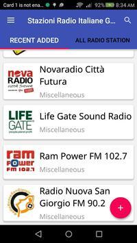 Stazioni Radio Italiane Gratis apk screenshot