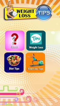 Weight Loss Fitness Tips poster