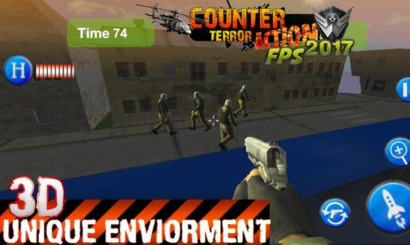 Counter Terrorist MoDern CombatAct FPS 2017! screenshot 7