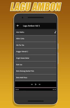 Lagu Ambon Terbaru screenshot 1