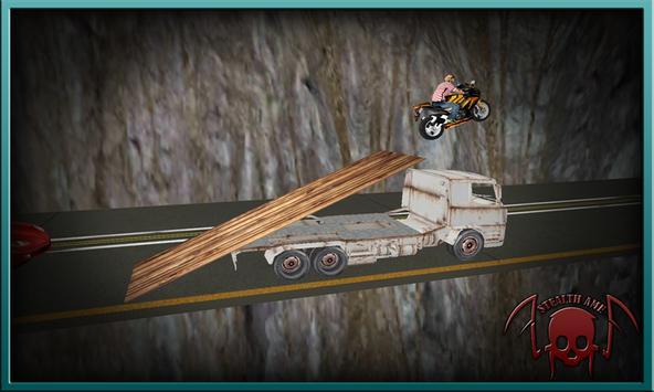 Crazy Bike Mountain Driving 3D apk screenshot