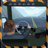 Crazy Mountain Bus Driver: Sim icon
