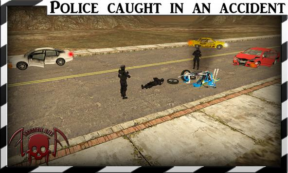 Dangerous Robbers Police Chase poster