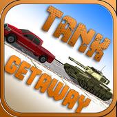 Reckless Enemy Tank Getaway icon