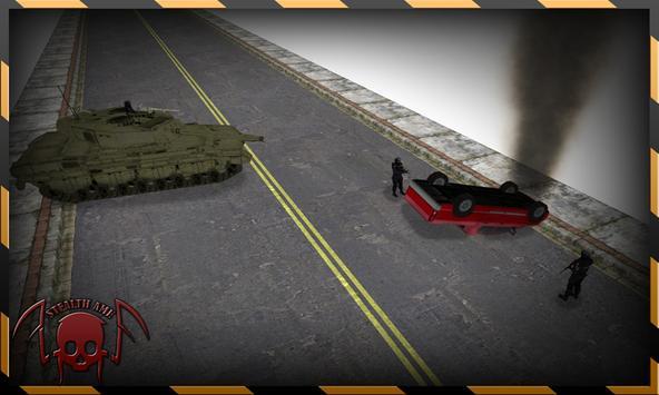 Reckless Enemy Tank Getaway poster