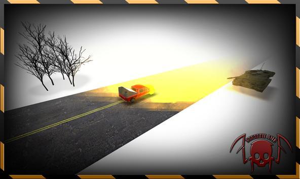 Reckless Enemy Tank Getaway screenshot 2