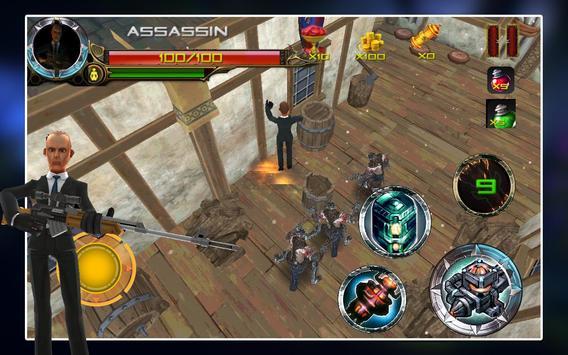 Raid Fury - Mutant Assassin screenshot 4