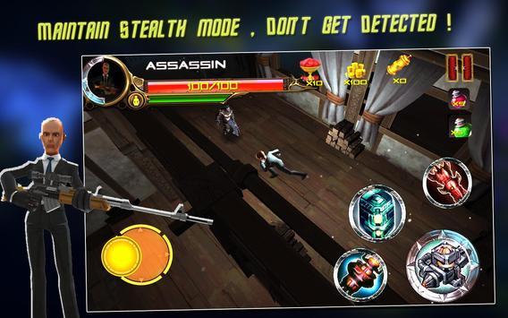 Raid Fury - Mutant Assassin screenshot 2
