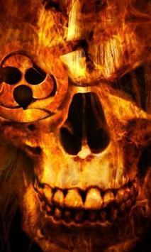 Halloween Pixel Skull Wallpapers apk screenshot