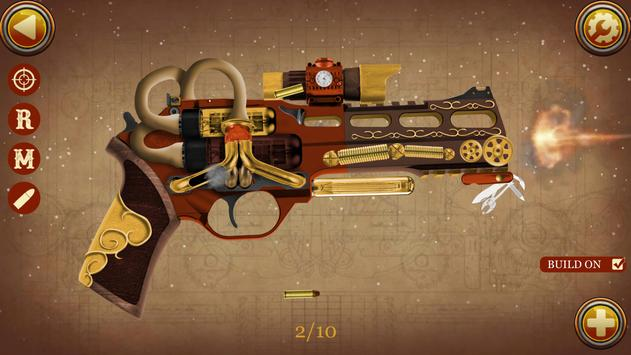 Steampunk Weapons Simulator apk screenshot