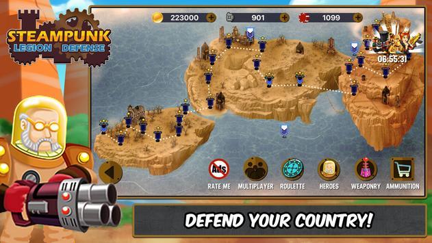 Steampunk Legion Defense poster