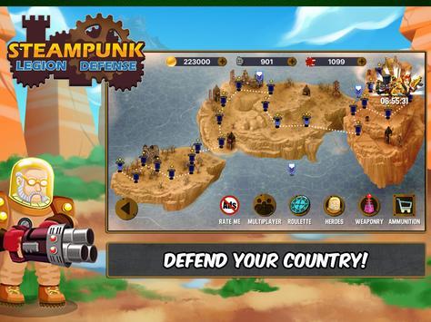 Steampunk Legion Defense screenshot 12